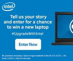 Upgrade With Intel Contest + Great Deal on Dell Inspiron 15.6″ Laptop #UpgradeWithIntel AD