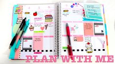 Plan With Me! #1 | Decorating My Erin Condren Planner