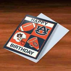 Auburn Happy Birthday
