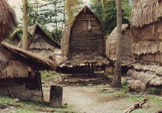 Traditional house of Sasak people, Lombok island, Indonesia.