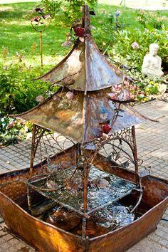 Copper China Fountain