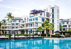 Gansevoort Dominican Republic Sosua, Caribbean Beachfront Buildings Grounds Luxury Modern Pool building condominium Resort property leisure residential area marina home dock swimming