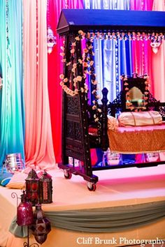pakistani wedding mehndi night decor http://maharaniweddings.com/gallery/photo/9810