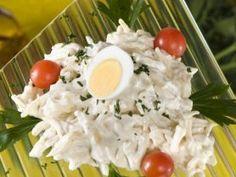 Majonézes zellersaláta recept