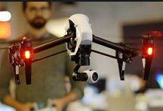 The DJI Inspire One quadcopter...