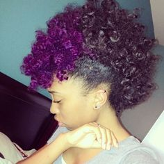 natural hair style ideas for spring - how to style a frowhawk - natural hair blog