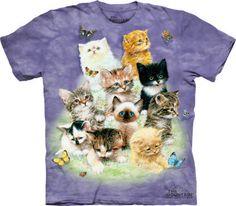 Men Women Youth Kids Tank Long Sleeve Tee Siamese Cat Pop Blocks T-Shirt