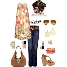 Bohemian, created by dawndayiannelli on Polyvore
