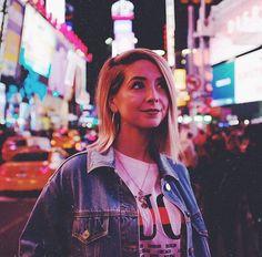 Zoella in New York.