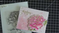 In this video, I share how to color this gorgeous peony stamp from the Ton with my Zig Clean Color Real Brush Markers. Fore more pictures and in. The Ton Stamps, Brush Markers, Altenew, Peony Flower, Watercolor Cards, More Pictures, Peonies, Paper Crafts, Make It Yourself