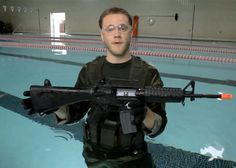 Can Airsoft Guns Work Under Water? | Popular Airsoft  I would have never thought that would work.