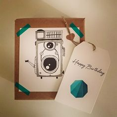 #craftivity #handmade #giftwrapped #handcreation #birthdaypresent #madewithlove #inspire #paperlove #vintage #camera #handdrawn #illustration #Tbilisi #based Birthday Presents, Gift Bags, Graphic Illustration, How To Draw Hands, Wraps, Gift Wrapping, Inspire, Creative, Happy