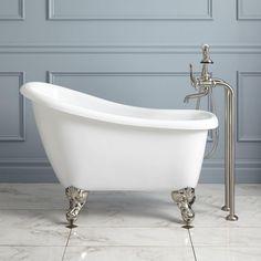 Carter Mini Acrylic Clawfoot Tub Bathtubs