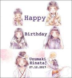 Happy birthday, Hinata Uzumaki! (27th December 2017) ❤️❤️❤️