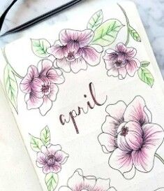 April bullet journal flip through update weekly log and monthly log ideas Bullet Journal Book, Bullet Journal Flip Through, Bullet Journal Spread, Bullet Journal Layout, My Journal, Journal Pages, Bullet Journal Month Cover, Tracker Mood, Filofax