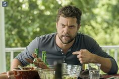 Joshua Jackson - He's even HOT when he's angry (Cole Lockhart - The Affair).  jjh - Love the all-caps, totally warranted