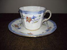 Royal Crown Derby China Tea Cup & Saucer Circa 1926-27 Pattern 7295