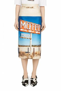 Prêt-à-porter WOMEN – #byOOTD Printed Pencil Skirt, Sequin Skirt, Luxury Fashion, Sequins, Skirts, How To Wear, Motel, Shopping, Collection
