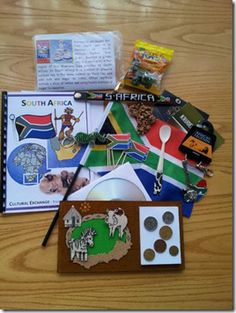 Cultural Exchange Parcel to Australia, Sweden & USA South African Poems, The Good German, World Thinking Day, Kindergarten Activities, Preschool, Grilling Gifts, Summer Barbecue, School Projects, Girl Scouts