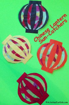 Chinese Paper Lantern Printable Craft Chinese lantern sun catcher for kids to make. Free printable from Activities for Kids - Perfect craft for the Chinese New Year. Lots of ideas here for Chinese New Year Crafts for Kids. Chinese New Year Crafts For Kids, Chinese New Year Activities, Chinese New Year Decorations, Chinese Crafts, Multicultural Activities, Chinese New Year 2020, Learn Chinese, Art Activities, Pig Crafts