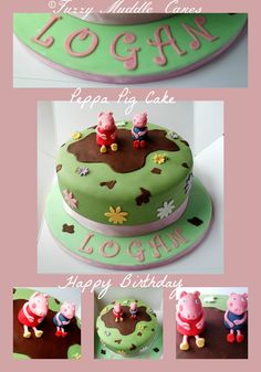 Birthday Cake Photos - Peppa Pig Cake