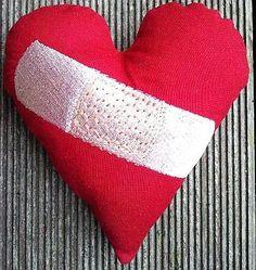 Hier mein 73. Herz für Dich: Heute gibt es ein Zauber-Pflaster