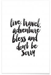 Live Travel Adventures - Premium Poster