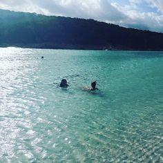 Whitehaven beach #whitehavenbeach #hamiltonisland #greatbarrierreef #holiday #beach #heavenly #paradise #swimming by dragannah http://ift.tt/1UokkV2