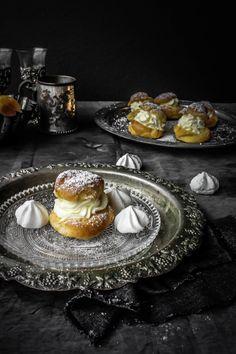 Cream Puffs With Orange Whipped Mascarpone