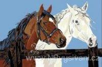 A-9630320-00023 Koně v ohradě (doprodej)