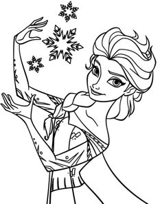 Sven Het Eland Disney Stuff Coloring Pages Frozen Coloring