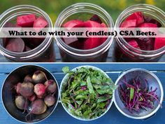 What to do with CSA Beets.