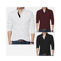17621af3b99 Buy the brand new Pack Of 3-Polover T-Shirts For Men at best