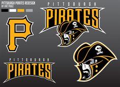 Pittsburgh Pirates New Logo   Pirates-new-logo by Epoole88
