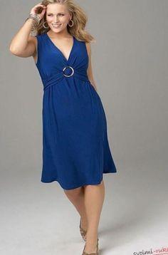 Выкройка платья-туники и брюк Данный комплект подойдет для полных дам. Приталенное платье-