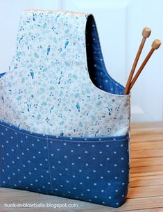 Домик в одуванчиках: Сумка для вязания / Project Bag