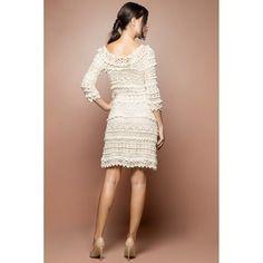 Off Olivia Crochet Dress - Vanessa Montoro USA - vanessamontorolojausa