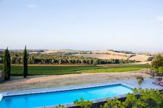 "This pool with a panoramic view is from our feature ""Sunshine Escape"""