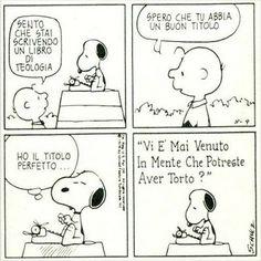 Snoopy e la religione
