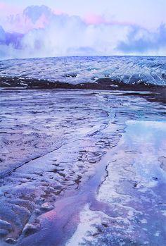 Glacier, Iceland. #chicvilleusa