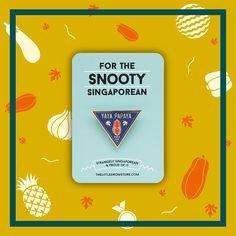 Image of 'Yaya Papaya' Badge