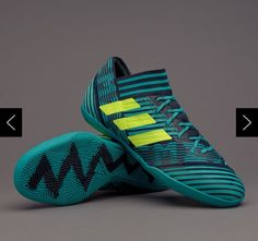 adidas Nemeziz Tango IN - Mens Boots - Indoor - - Legend Ink Solar Yellow Energy  Blue a87e4301c8d