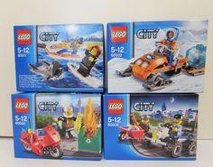 Lego City lot of 4 60000 60006 60011 60032