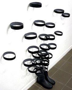 """Mi piace"": 2,961, commenti: 3 - Kamran Bigdely (@durmoosh) su Instagram: ""Sakir Gökçebag @sakirgokcebag - Untitled, from ""Cut Objects"" (rubber boot) 165 x 260 x 33 cm. 2007…"""