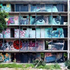 By RONE – Portrait Ashlynne Ellis – New Orleans, USA – July 2014 http://360bylaurentjacquet.wordpress.com/2014/09/15/street-art-masterpieces-summer-2014/
