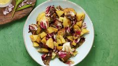 Grilled Potato and Radicchio Salad with Dijon Tarragon Vinaigrette recipe from Season Five of Pati's Mexican Table Authentic Mexican Recipes, Mexican Food Recipes, New Recipes, Salad Recipes, Ethnic Recipes, Grilling Recipes, Cooking Recipes, Patis Mexican Table, Mexican Recipes