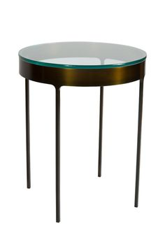 Buy Eastman Bronze Ring Side Table - Side Tables - Tables - Furniture - Dering Hall