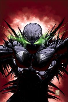 Spawn by Whilce Portacio & Todd McFarlane Comic Book Artists, Comic Book Characters, Comic Book Heroes, Comic Character, Comic Books Art, Comic Art, Spawn Comics, Marvel Comics, Arte Dc Comics