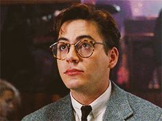 Robert Downey Jr as Roger Baron in True Believer (1989)