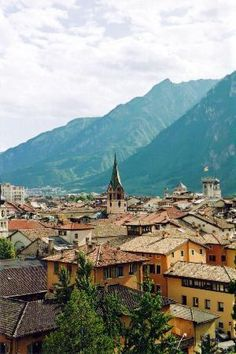 Trento, Italy...hope to go with my dad someday :) that is where the Povoli's are from :)